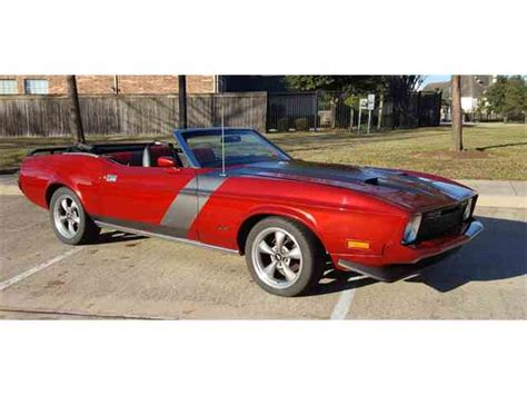 1974 ford mustang convertible 1973 ford mustang for sale on classiccars 67 available