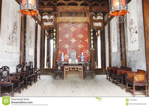 chinese house interior chinese old house stock image image of quiet home inner 14764255
