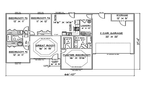 House Plans 1500 Sq Ft by 1500 Sq Ft House Plans Ranch House Plans 1500 Sq Ft House