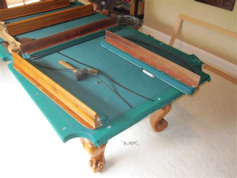 pool table refelting pool table refelt dk billiards service and showroom