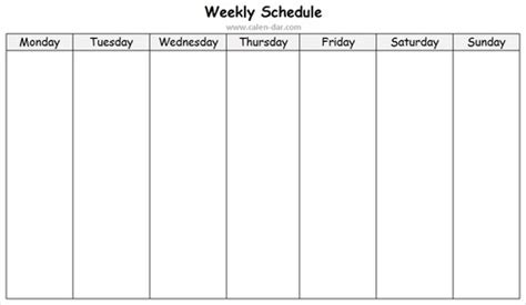 Sunday Through Saturday Calendar Template by Weekly Schedule Wallpaper From Sunday To Saturday