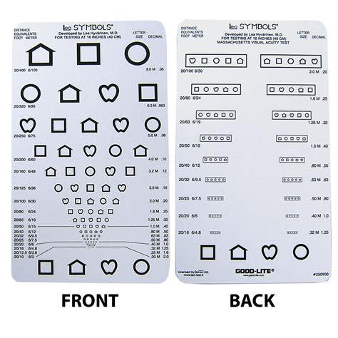printable near point eye chart eye cards eye charts vision assessment amcon labs