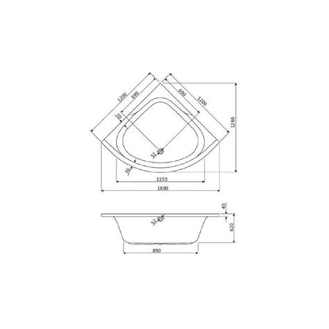 Baignoire Angle 120x120 by Baignoire D Angle 120x120 Pas Cher