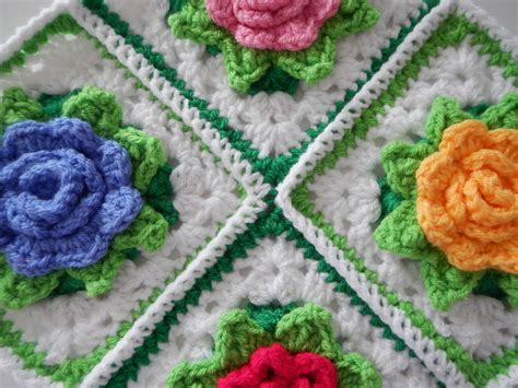 crochet free many roses afghan to crochet free patterns and ideas
