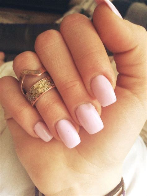 best 25 square oval nails ideas on manicure