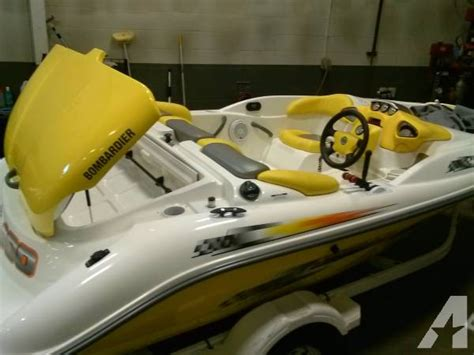 sea doo boat and trailer weight 2002 sea doo sportster lt jet boat for sale in kimball