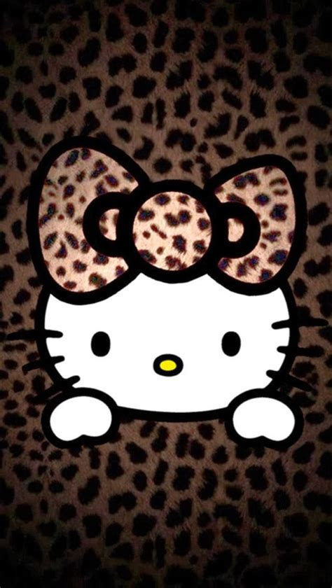 Hello Kitty Leopard Wallpaper For Android | wallpaper hello kitty leopard imagui
