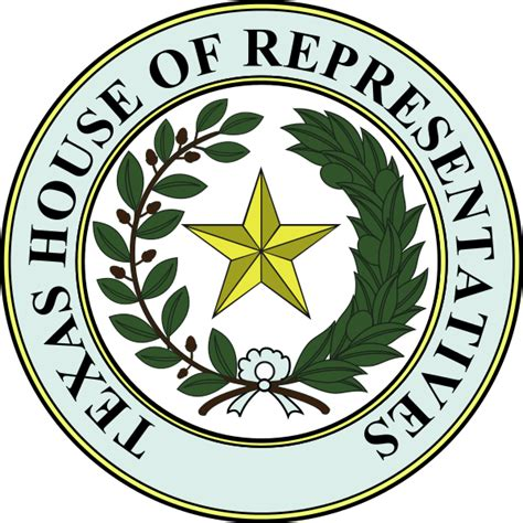File Seal Of Texas House Of Representatives Svg Wikimedia Commons