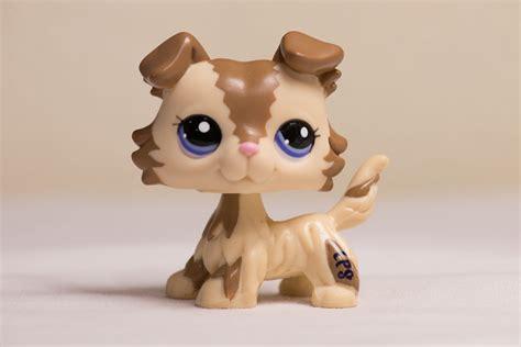 lps ebay dogs littlest pet shop lps collie puppy 2210 ebay