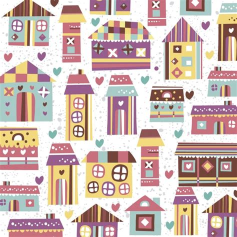 Home Patterns | home sweet home pattern vector free download
