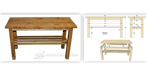 build coffee table woodarchivist