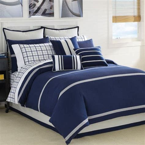 bedding sets queen clearance clearance nautica blue lake queen comforter set by