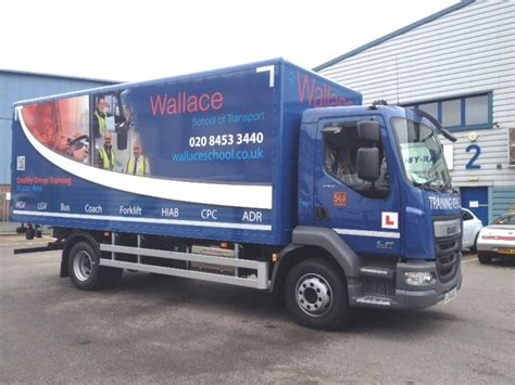 hgv driver wallace school of transport