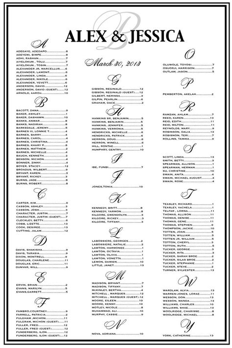 free printable wedding seating chart template free seating plan wedding reception template