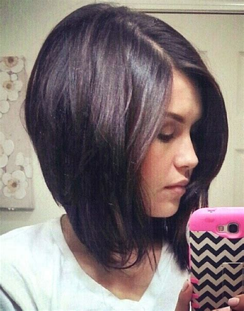 how to do a bob haircut long in front short in back long bob haircut with side bangs hollywood official