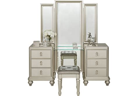 silver bedroom vanity silver makeup vanity set dressing table and mirror in antique silver lilyfield tips