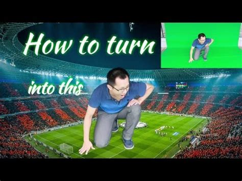 tutorial filmora green screen tutorial how to make a green screen video with filmora