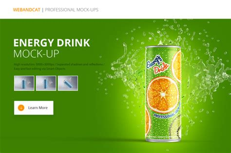 energy drink label template energy drink can design psd template 187 designtube