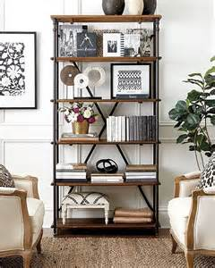 Decorative Bookshelves Best 25 Industrial Shelves Ideas On Pipe
