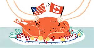 for canadians thanksgiving is a quieter affair in october the new york times