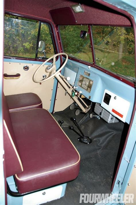 jeep truck interior 1948 willys overland jeep truck interior jeep