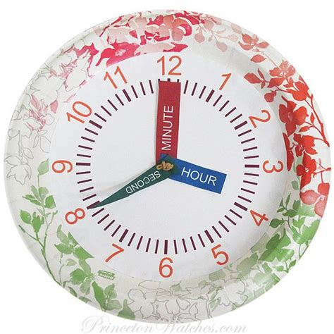 Make Paper Clock - back to school time watches crafts back to