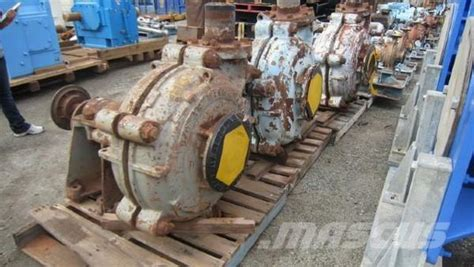 Pompa Warman Warman 8 6 Slurry Pumps Pe37 Concrete Pumps Pre Owned