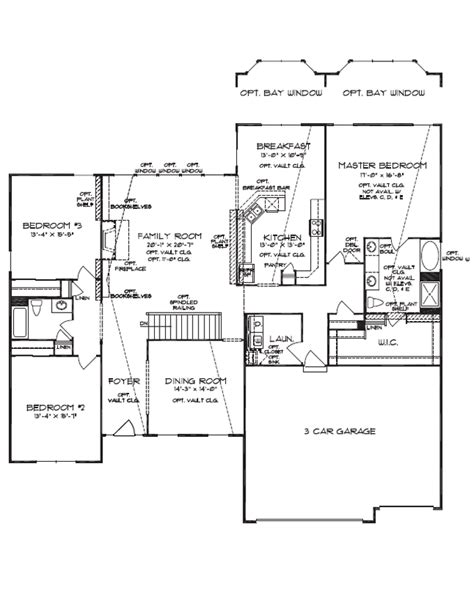 luxury ranch floor plans floorplan