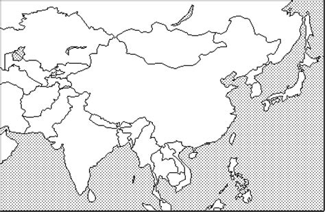 middle east map no labels blank map of asia quiz