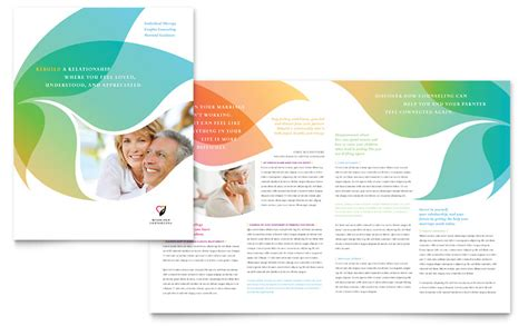 marriage counseling brochure template word amp publisher
