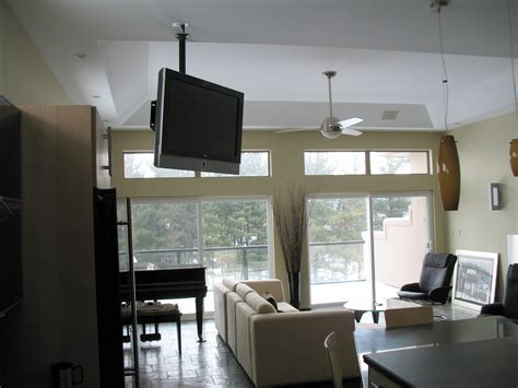 ceiling mounted lcd plasma led ideas photos images pictures toronto home theater