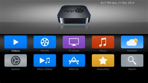 Skins For Customizing Your Apple Tv by Announcing New Skin Apptv Xtv Saf Reboot