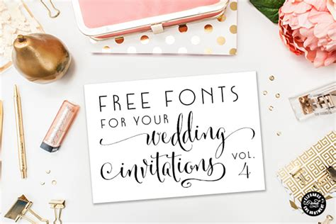 Free Wedding Fonts All Caps by Free Fonts For Diy Wedding Invitations Volume 4