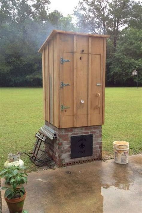 backyard smokehouse plans how to build a timber smoker diy projects for everyone