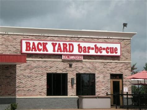 Backyard Barbecue Jackson Tn by Back Yard Bar Be Cue Jackson Tn Classic Bbq And