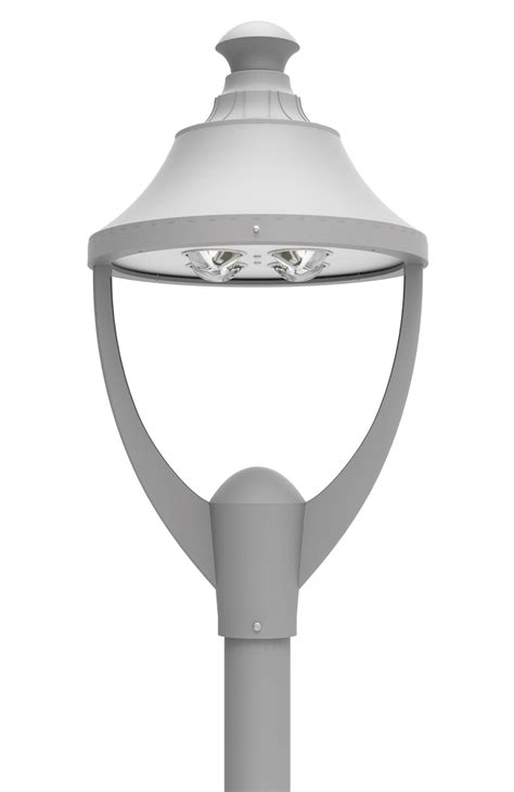 led pt  series led post top light fixtures outdoor