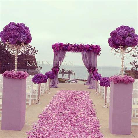 wedding arch purple wedding ceremony arch ideas archives weddings romantique