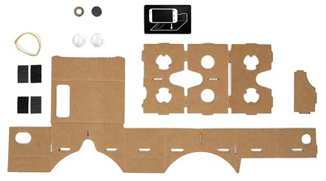 Google Cardboard L 229 Ter Oss Bygga Virtuell Verklighet Med Smartphone Och Kartong Swedroid Vr Cardboard Template
