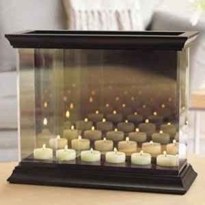 partylite infinite reflections candle holder perrysburg