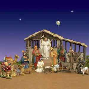 three kings real life nativity set w stable 14 quot scale