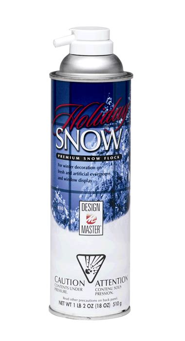 quality flocking spray design master snow premium snow flock 18oz