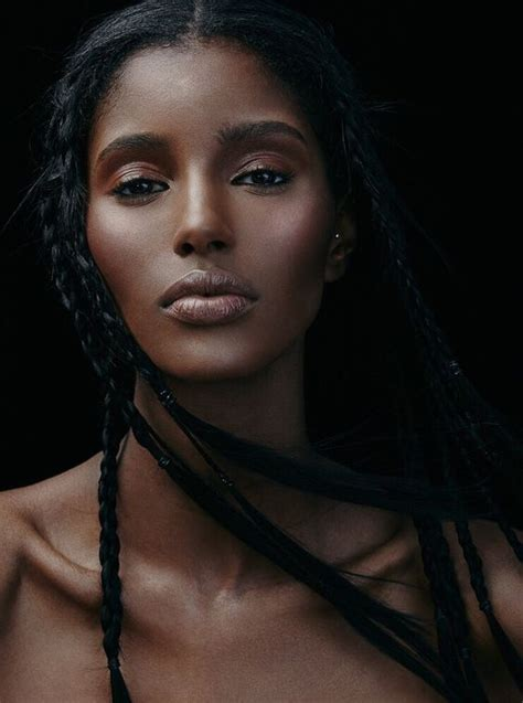 ethiopian hair model senait gidey is an ethiopian canadian model faces