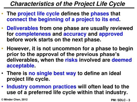 define biography characteristics ppt project management lifecycle powerpoint presentation