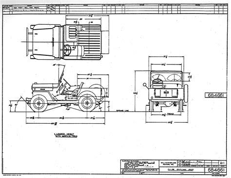 ww2 jeep drawing willys jeep ww2 trailer diagram ww2 destroyed jeep