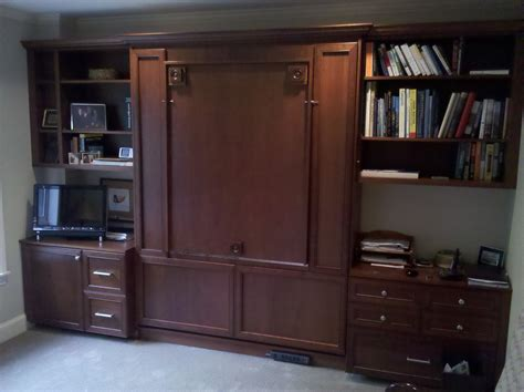 wall bed with desk murphy bed desk home office traditional with home office