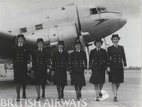 Cabin Crew History by Photos From 1940 To 1949 History And Heritage