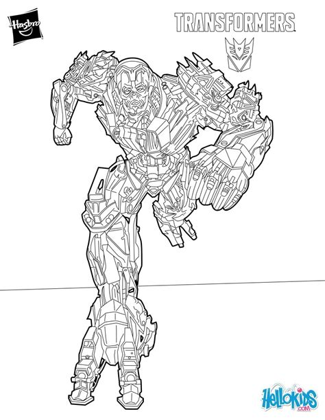 coloring pages transformers grimlock ruthless bounty hunter from transformers coloring page