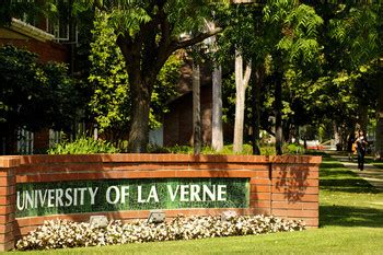 Of La Verne Mba Accreditation by History Vision Mission Values Lfce