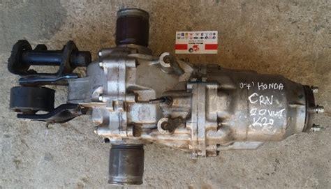 Injector Honda Crv K20 2007 honda crv 2 0 rear diff k20 matadoor salvage