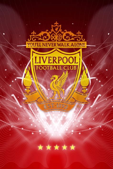 wallpaper iphone liverpool liverpool logo download iphone ipod touch android